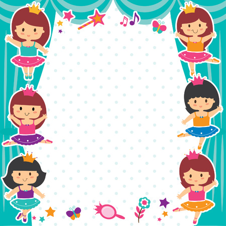 ballerina girls layout design