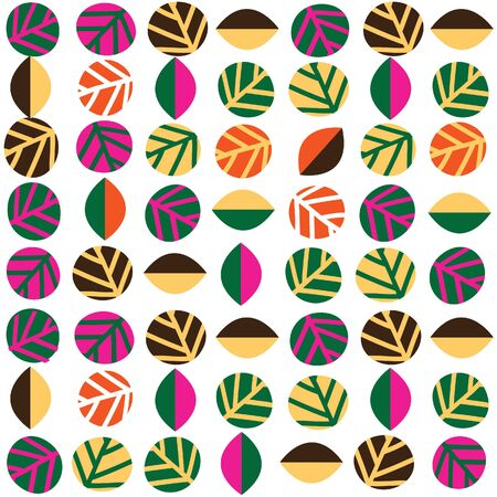 autumn pattern design 矢量图像