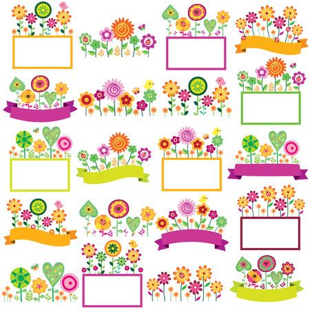 spring time floral spring set