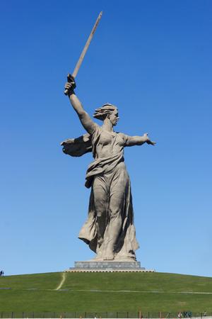 volgograd: the monument Stock Photo