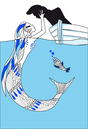 Pisces  12 Signs of the Zodiac Vector