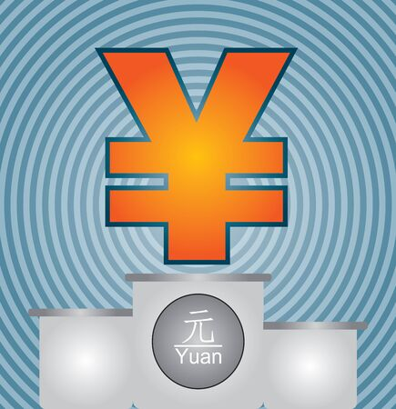 Strengthening of the Yuan currency Vector