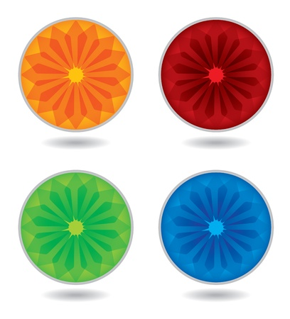 paste: Editable color wheel template with copy paste area