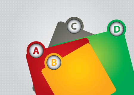 databank: Communicatie concept - sjabloon met kopie ruimte gebied