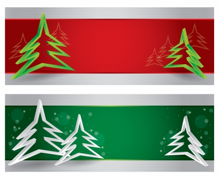 Merry Christmas website header and banner with abstract background