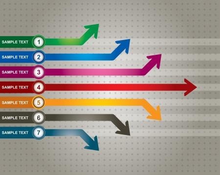 La comunicación concepto con flechas - plantilla con copia espacio área