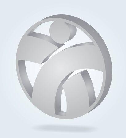 headhunter: Risorse umane - modello astratto con segno