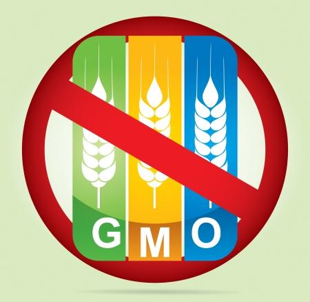 유전자 조작 식물을 수정 - 농업 개념