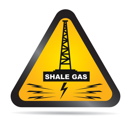 Label for the exploitation of shale gas ban