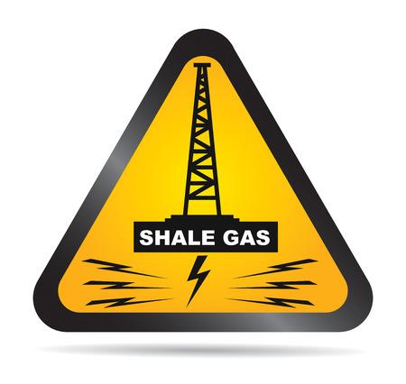 셰일 가스 금지의 착취에 대 한 레이블