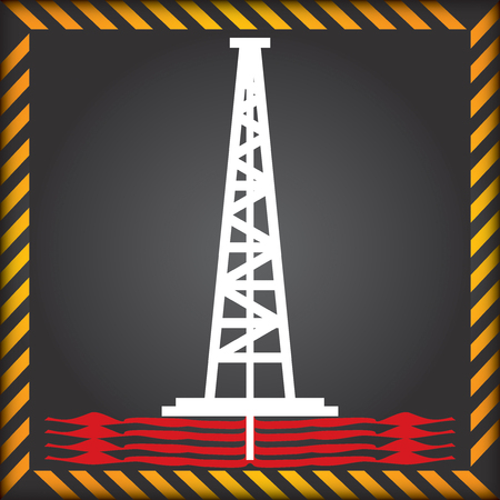 fracking: Label for the exploitation of shale gas ban - anti fracking sign