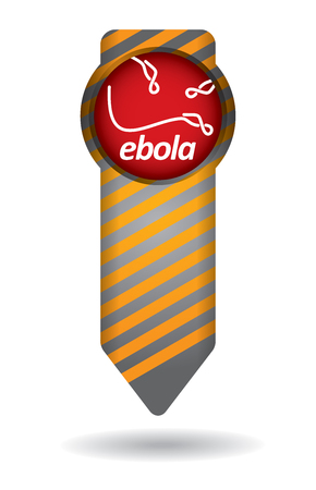 ebola: An epidemiological concept of risk spreading Ebola Illustration