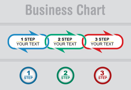 copy paste: Business strategy, flow of succes, illustration with copy paste area