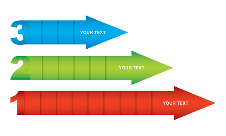copy: Business strategy, flow of succes, illustration with copy paste area