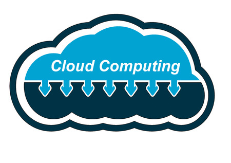 remote backup service: Cloud computing, document sharing solutions icons