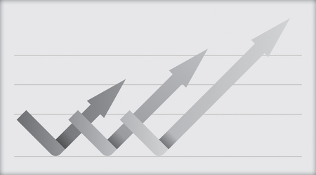 Business concept - flow chart with copy paste text.