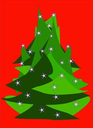 christmas tree Stock Vector - 10576371
