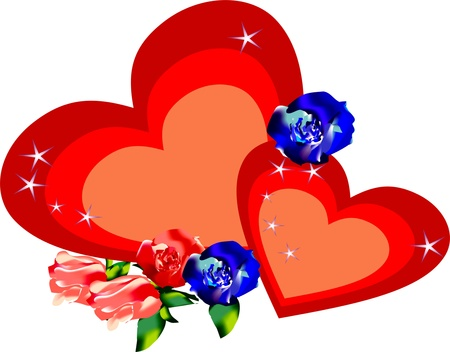 hearts Stock Vector - 11169754