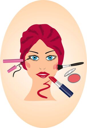 make-up Stock Vector - 12678145