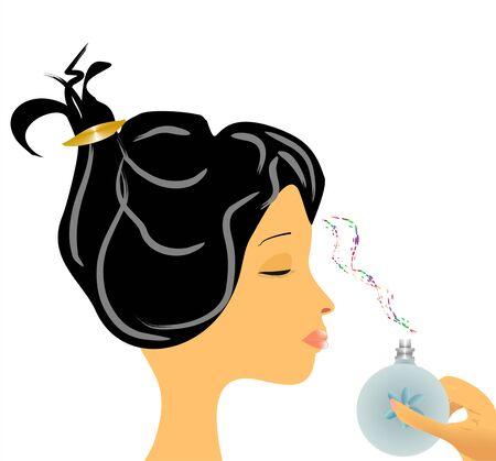 scent: scent Illustration