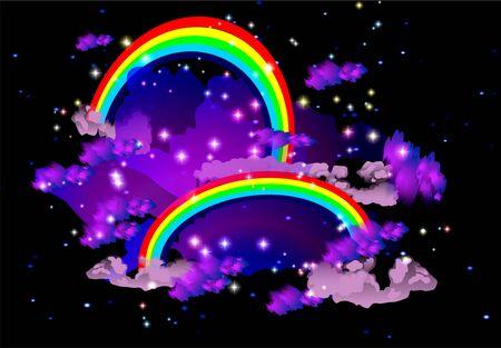 rainbows Illustration