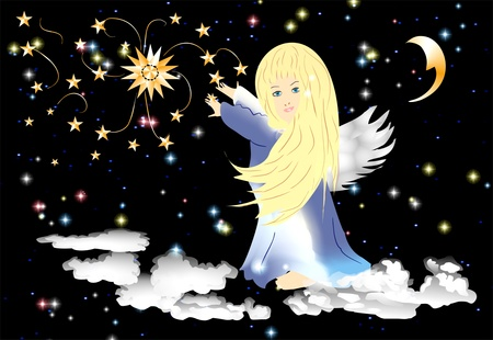 moon angels: angel
