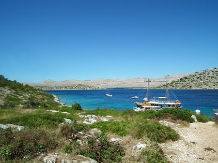kornati: Isole di Kornati, Croazia Archivio Fotografico