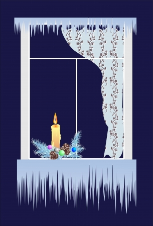 icicles: Christmas decoration