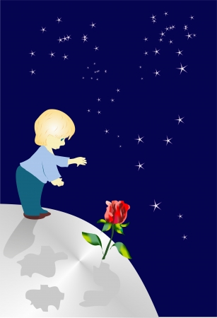 little prince Stock Vector - 15231837