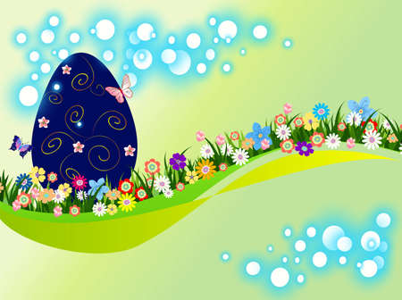 Easter composition Stock Vector - 17980928