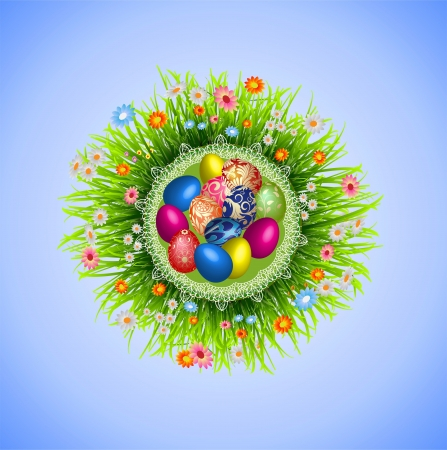 Easter composition Stock Vector - 18015257