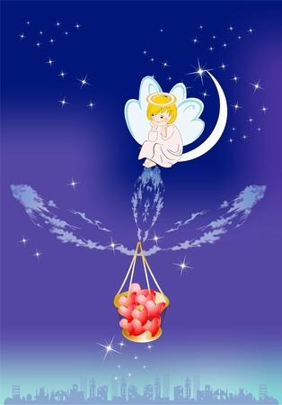 ange gardien: ange gardien Illustration