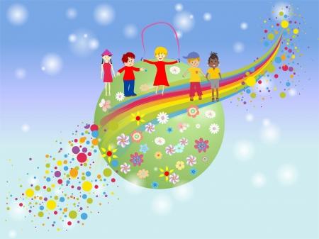 children s day Stock Vector - 19334283