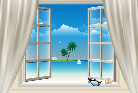 ocean view: the window,