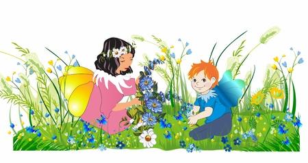 elves: little elves, Illustration