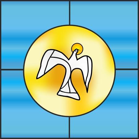heilige Geest Vector Illustratie