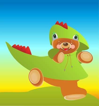 dragoon: Strange dragon Illustration