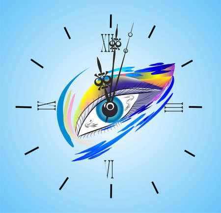 favorite number: clock eye