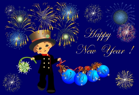 chimney sweep and New Year