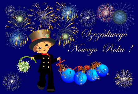 article of clothing: chimney sweep and New Year