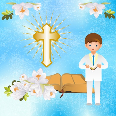 holy book: first holy communion