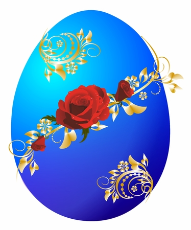 Easter decoration with Easter egg