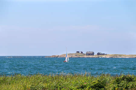 windsurf: Windsurf en Varberg, Suecia.