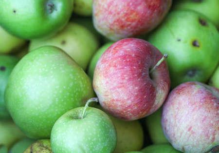 Organic apples.
