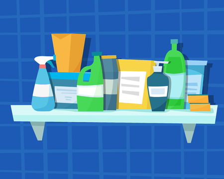 Washing detergents and bottles