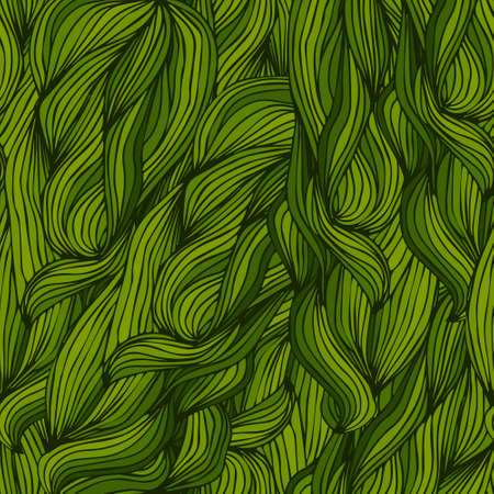 green pattern of leaves Ilustracje wektorowe