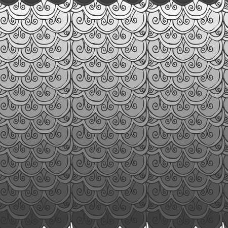 steel fish scales Vector