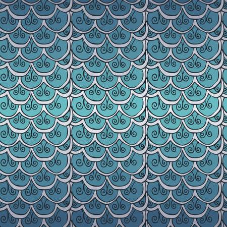 escamas de peces: escalas de peces redondos