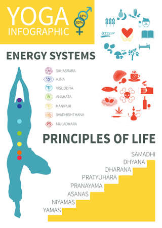 yoga infographic-03 Vector