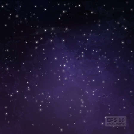 constellations: Space background (texture). Twinkling stars. constellations